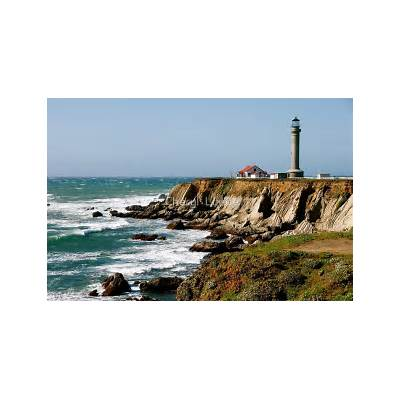 Point Arena Lighthouse by Cheryl LundeRedbubble