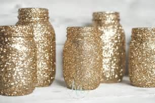 gold dipped gold glitter jars ka styles