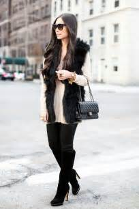 Relaxed Date Night Outfits Winter