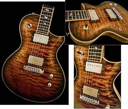 Guitar Electric Custom Guitars Ld22 Acoustic Pederson