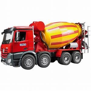 Prix Du Beton En Toupie : bruder camion toupie b ton mb arocs jou club ~ Premium-room.com Idées de Décoration