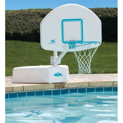 Dunnrite Splash + Shoot Swimming Pool Basketball Game Set