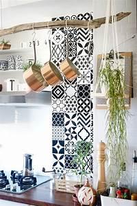 ma cuisine a fait peau neuve carrelage mural adhesif With carrelage adhesif salle de bain avec par 64 led