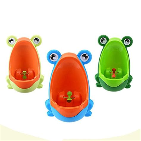 foryee cute frog potty training urinal for boys with funny
