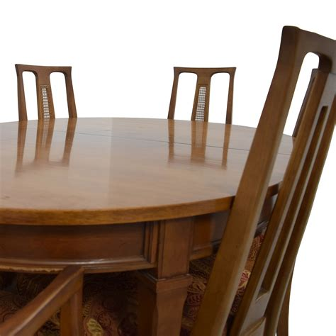 mid century oval dining set tables