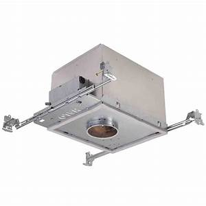 Recessed lighting loft insulation : Halo h in aluminum recessed lighting housing for new