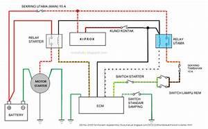 Cara Kerja Sistem Starter Elektrik Honda Beat Pgm