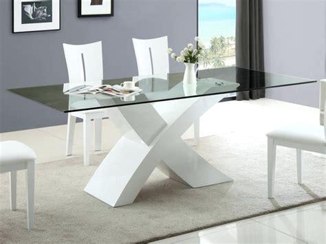 weißer hochglanz esstisch esstisch aus glas und holz ausziehbar kleiner whatisbe