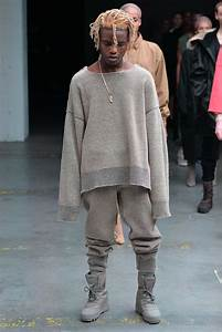 Kanye West In Collaboration With Adidas Debuts Fashion ...