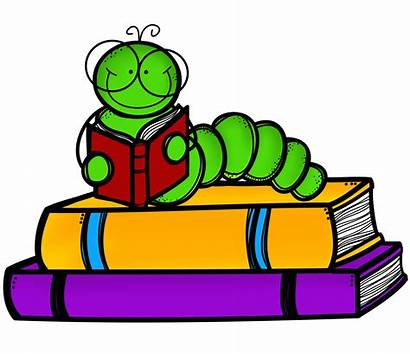 Library Clipart Graphic Bookworm Graphics Cliparts
