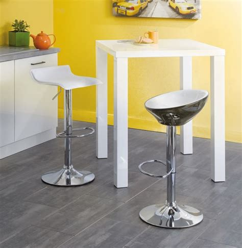 table de cuisine bar haute table blanche haute de cuisine conforama photo 7 10 table de bar haute de couleur blanche