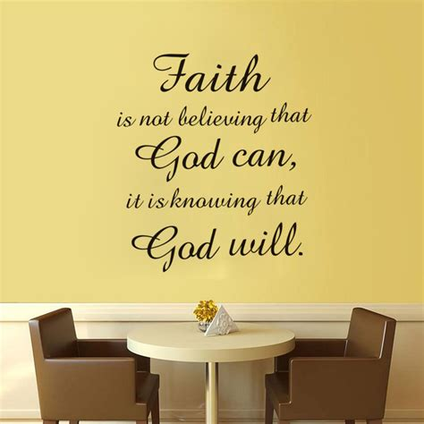 arrival waterproof wall decals quotes faith god