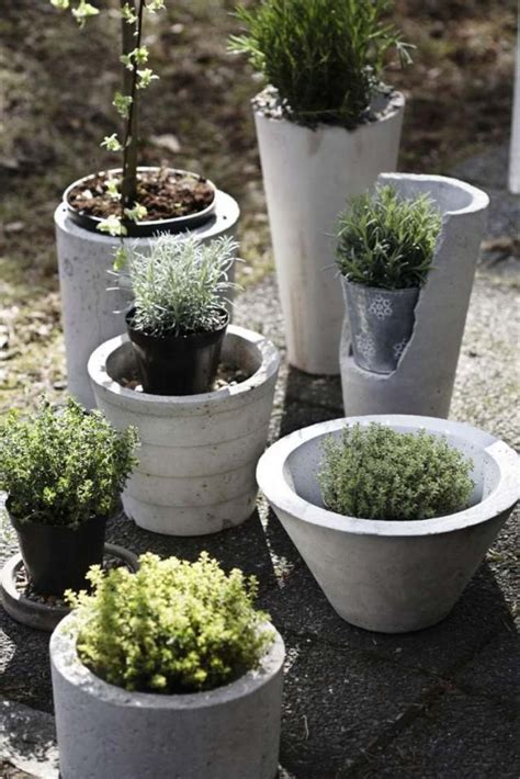 betonschalen selber gießen d 233 co de jardin diy en b 233 ton 33 belles id 233 es garten concrete garden garden und concrete