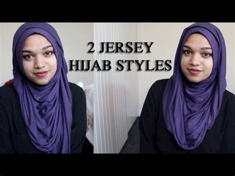 jersey hijab tutorials youtube