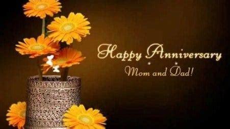 amazing parents anniversary status  quotes
