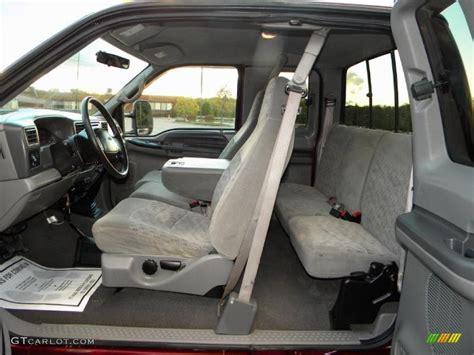ford supercar interior medium graphite interior 2000 ford f250 super duty xlt