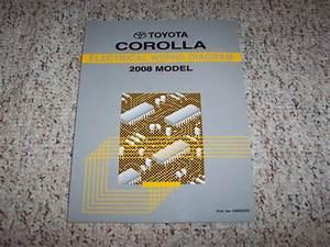 2008 Toyota Corolla Electrical Wiring Diagram Manual Ce S