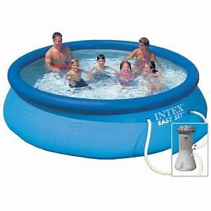 Kit Entretien Piscine Gonflable : piscine gonflable intex easy set x m epurateur ~ Voncanada.com Idées de Décoration