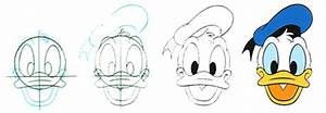 Learn how to draw Donald Duck