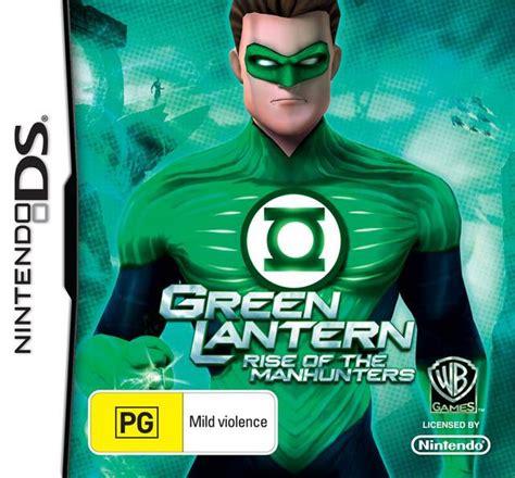 green lantern rise of the manhunters box for ds gamefaqs