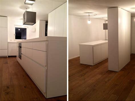 Küche In Weiß Matt  Schreinerei Leim&späne München