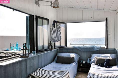 cabane en bois un cabanon de p 234 cheur transform 233 en maisonnette de bord de mer