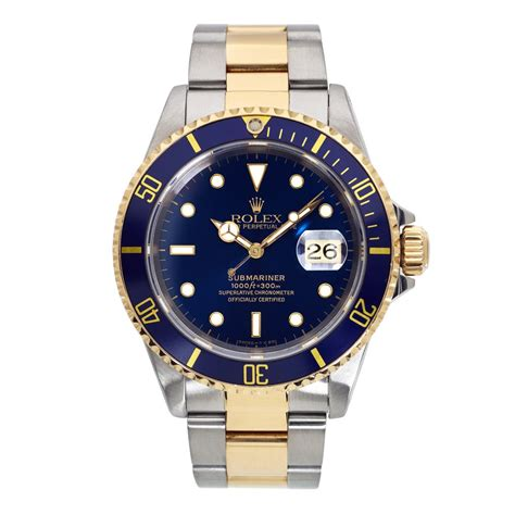 Rolex Oyster Perpetual Two-Tone '03 Submariner 16613 Watch