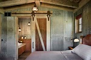 corrugated metal in interior design mountainmodernlifecom With what kind of paint to use on kitchen cabinets for corrugated metal wall art