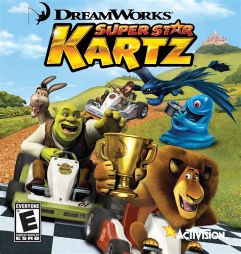 dreamworks kartz star shrek super zoo game games characters wii ps3 skg animation ds bomb giant gamespot swamp animal giantbomb