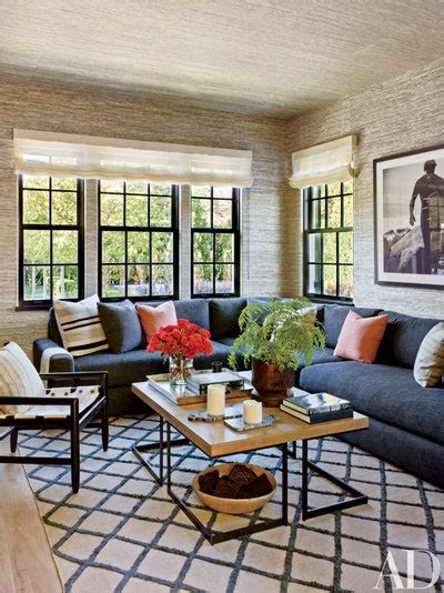 sectional sofas    room architectural digest