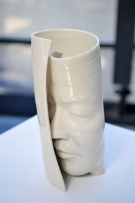 dynamic pottery sculptures  honk kong based artist