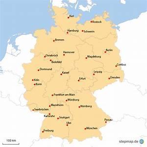 Schönsten Städte Deutschland : deutsche st dte von lentife landkarte f r deutschland alle bundesl nder ~ Frokenaadalensverden.com Haus und Dekorationen