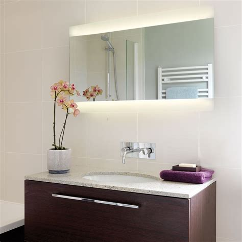 bathroom mirrors with lights astro fuji wide 950 bathroom mirror light at uk electrical 24071