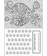 Coloring Valentine Card Crayola Pages Print Valentines Happy Super Printing sketch template