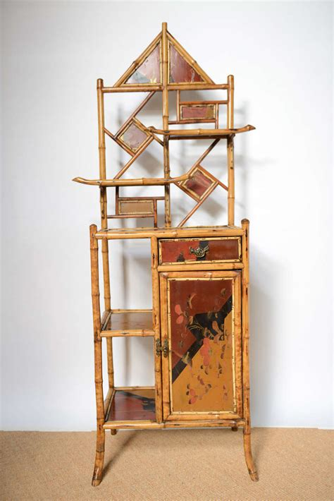 Pagoda Etagere by Antique Bamboo Pagoda Etagere At 1stdibs