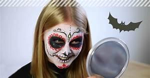 Schminken Zu Halloween : schminktipps f r halloween sugar skull schminken kost me com ~ Frokenaadalensverden.com Haus und Dekorationen