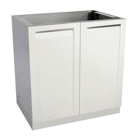 outdoor kitchen base cabinets newage products stainless steel classic 32 in bar 32x33