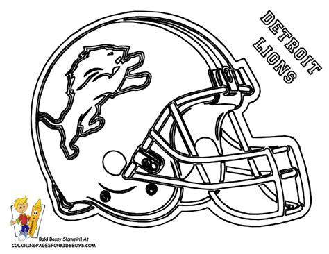 Big Stomp Pro Football Helmet Coloring