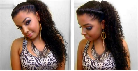Easy Quick Cute Twist Side Natural Curly
