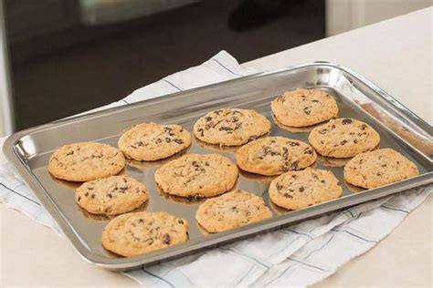 cookie sheet baking stainless steel pan sheets pans non cook commercial stick supplies heavy rated cake pie nordic naturals ware