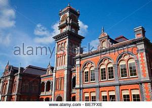 Queens Royal College in Port of Spain Trinidad Stock Photo ...