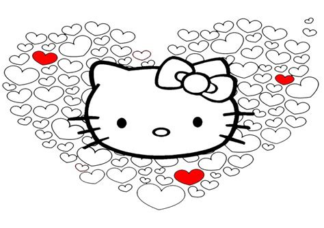 Aumalbilder- Malvorlagen- Hello Kitty