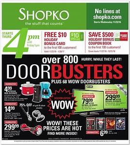 ShopKo Black Friday 2016 - ShopKo Black Friday Deals, Ads ...
