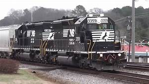 Norfolk Southern Northbound Freight Train(HD)Austell,Ga.1 ...