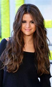 Selena Gomez Dark Brown Hair