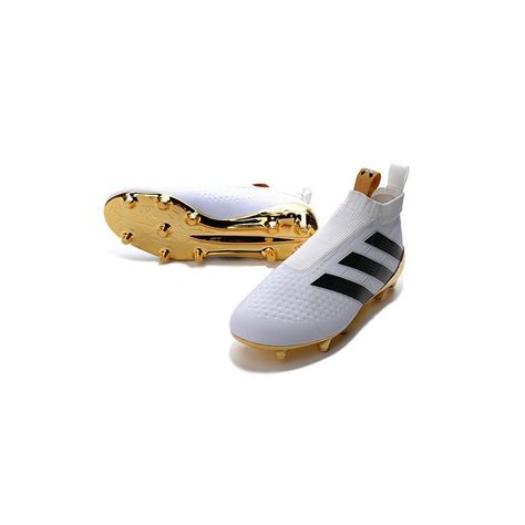 adidas ace  purecontrol fg news soccer boot white gold