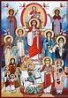 Coptic Saints | Church icon, Christian paintings ...