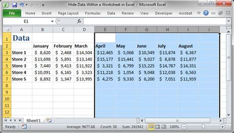 hide worksheets in excel vba 3 ways to unhide