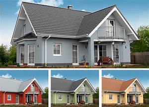 Fassadenfarbe Beispiele Gestaltung : farbtrends f r fassaden bauhandwerk ~ Orissabook.com Haus und Dekorationen