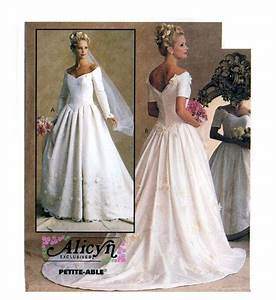 wedding dress sewing pattern mccall39s 8563 bust 32 1 2 to 36 With wedding dress patterns mccalls